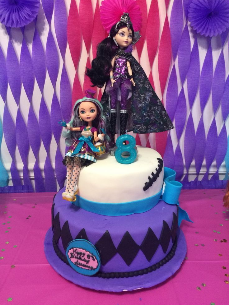 Ever After High Birthday Cake Ideas