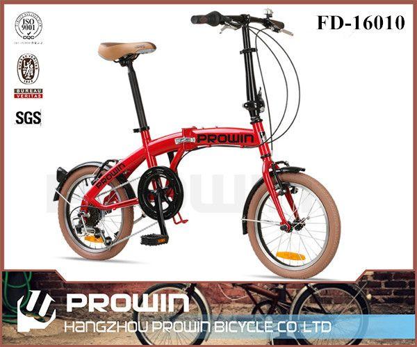 16 ''6 velocidad de acero extractor rueda de bicicleta plegable/plegable bici plegable para niñas (PW-FD16010)-Bicicletas-Identificación del producto:60320032945-spanish.alibaba.com