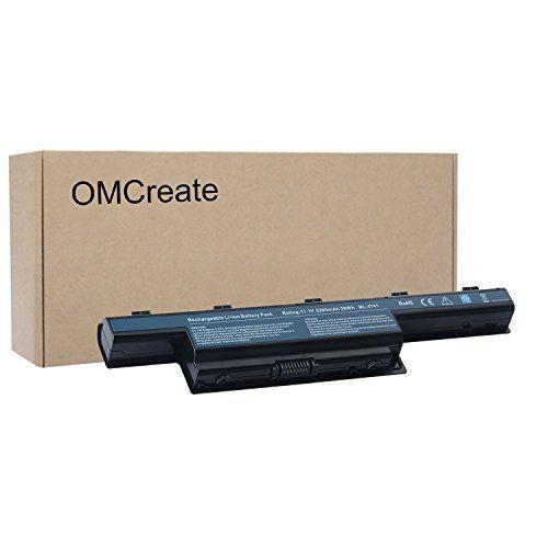 OMCreate New Laptop Battery for Acer AS10D31 AS10D51, Acer Aspire 5253 5251 5336 5349 5551 5552 5560 5733 5733Z / Acer TravelMate 5740 5735 5735Z 5740G / Gateway NV55C NV50A NV53A NV59C #OMCreate #Laptop #Battery #Acer #ASD, #Aspire #TravelMate #Gateway