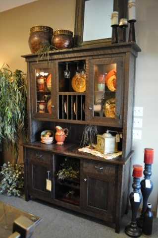 15 best images about hutch and sideboard decor ideas on for Hutch decor