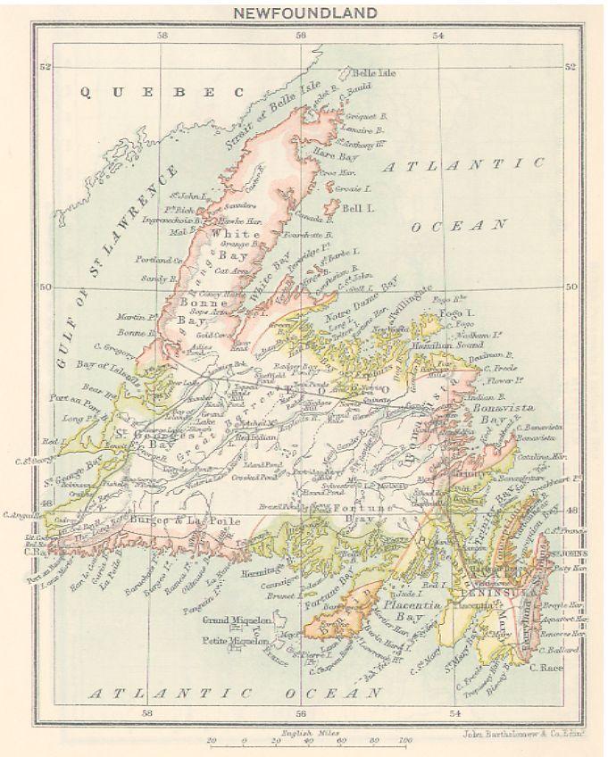 Newfoundland Geography - Newfoundland History