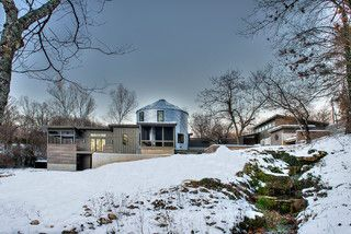 Modern Silo - contemporary - exterior - other metro - by Monticello Homes & Development
