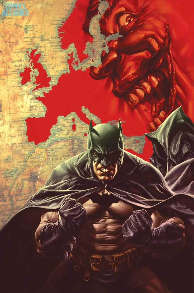 BATMAN: EUROPA #1 Written by MATTEO CASALI and BRIAN AZZARELLO Layouts by GIUSSEPPE CAMUNCOLI Art and 1:25 Variant cover by LEE BERMEJO