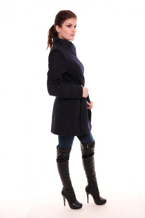Пальто весеннее СЖ Размеры: 40,42,44,46,48 Цвет: темно-синий Цена: 4500 руб.  http://optom24.ru/palto-vesennee-szh/