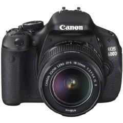 The Canon 600D.