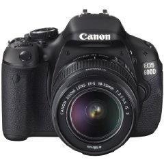 The Canon 600D.