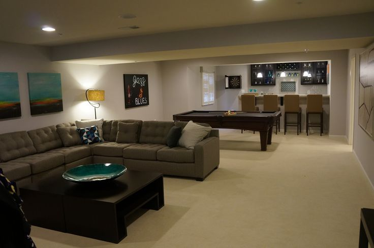 Basement Remodeling Baltimore Model Interior Image Review