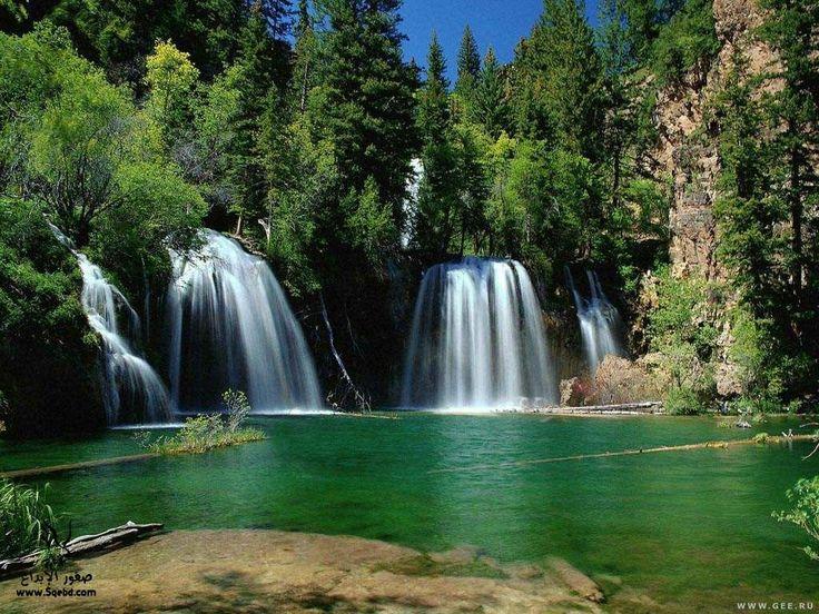خلفيات وصور من الطبيعة صور مناظر طبيعية صور مناظر طبيعية خلابة خلفيات عالية الدقة Waterfall Pictures Beautiful Waterfalls Waterfall
