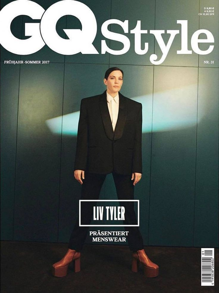 Liv Tyler by Marlene Marino for GQ Style Germany SS 2017 Cover