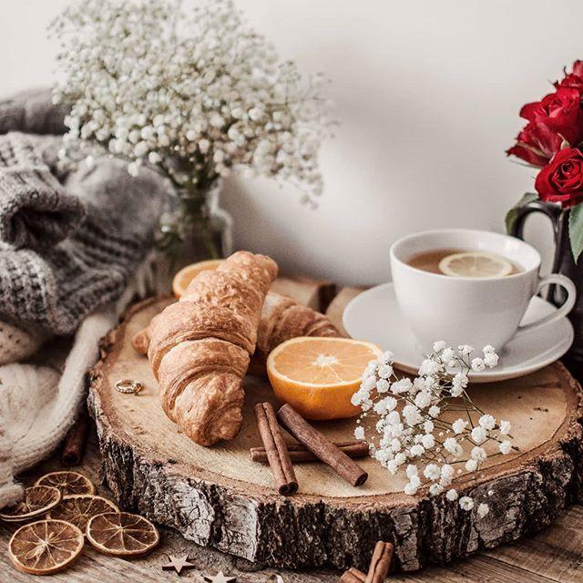 Фото инстаграм, идея, вдохновение, чай, уют, flatlay, раскладка завтрак. #фото #вдохновение #flatlay