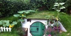 Arka Bahçenize Nasıl Hobbit Evi Yapabilirsiniz ?