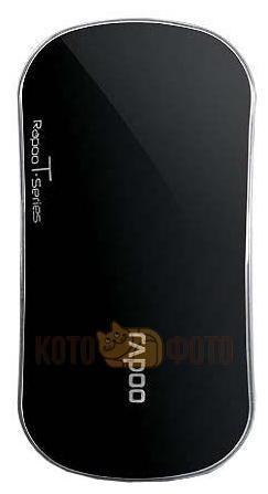 Компьютерная мышь Rapoo T6 черный  — 910 руб. —  Мышь Rapoo T6 черный. Интерфейс подключения: USB. Три сенсорные области выполняющие функции: две стандартные кнопки и колесо прокрутки
