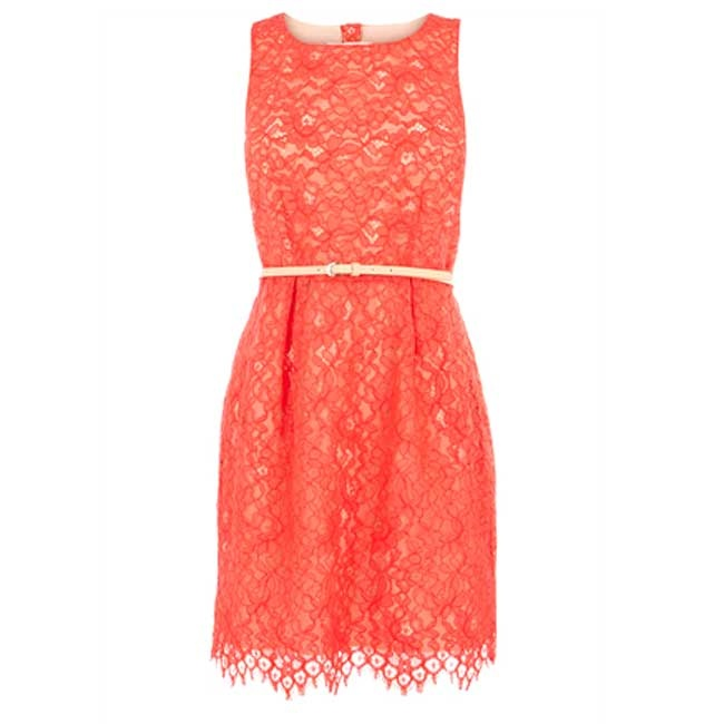 Coral dress - Rehearsal dress or bridemaids dress