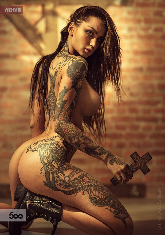 Sexy lady tattoos porn