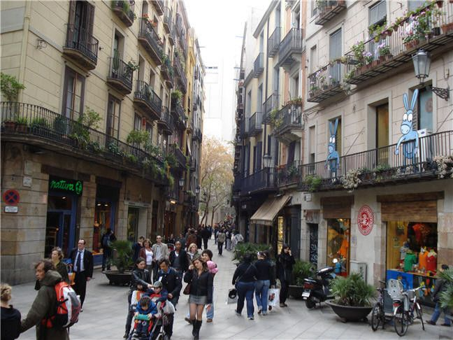 Barcelona. Barrio Gótico.