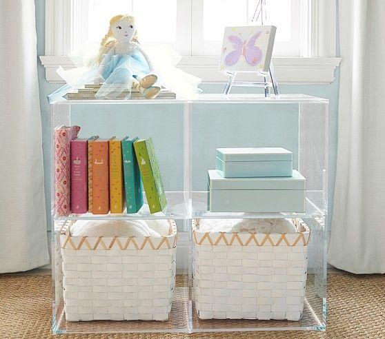 princess pottery barn bookshelf for girls