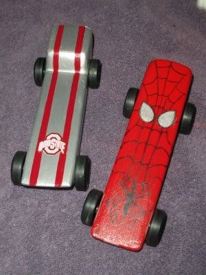 pinewood derby cars spiderman | Found on momentsinmidstream.blogspot.com