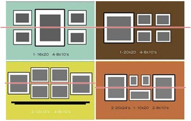 Cómo colocar un conjunto de cuadros | Decorar tu casa es facilisimo.com