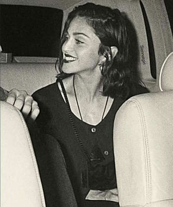 Madonna and that smile
