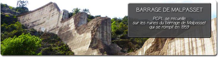 Novembre 1959, le barrage de Malpasset, sur la commune de Fréjus-St Raphael, a peine agé de 5 ans, cède. La vague dévastera la région faisant plus de 400 morts. Le site est aujourd'hui visitable gratuitement