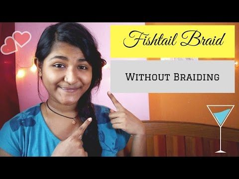 Now easily do fishtail braid even if you don't know braiding or have never done it before.