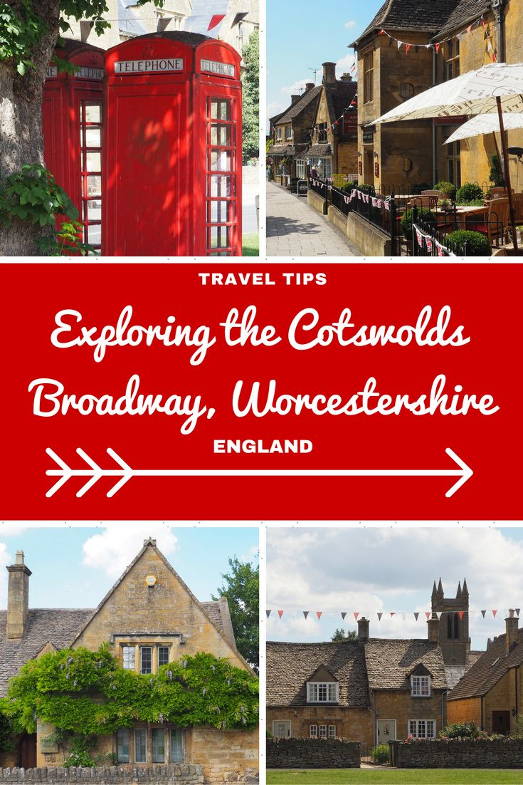 England Travel Inspiration - Exploring Broadway in Worcestershire; a delightful…