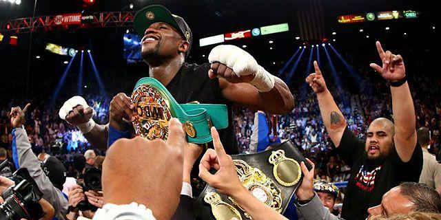 Floyd Mayweather ha perdido el título que ganó contra Pacquiao en la pelea del siglo ~ Entérate Cali