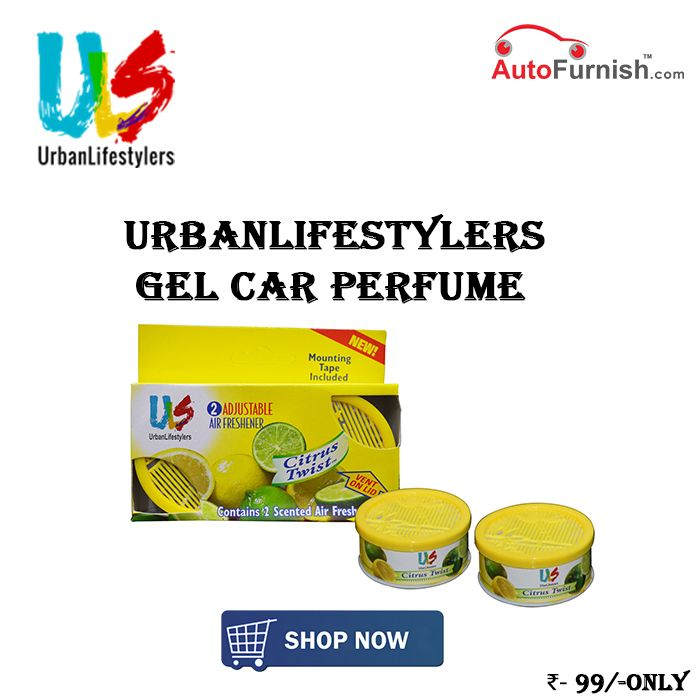 ULS Car Gel Perfume @ Rs. 99 Shop Now @ http://www.autofurnish.com/car-perfumes
