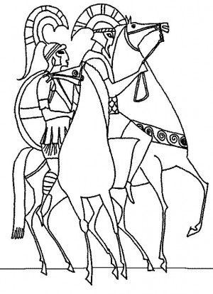 find this pin and more on ancient greece coloring book