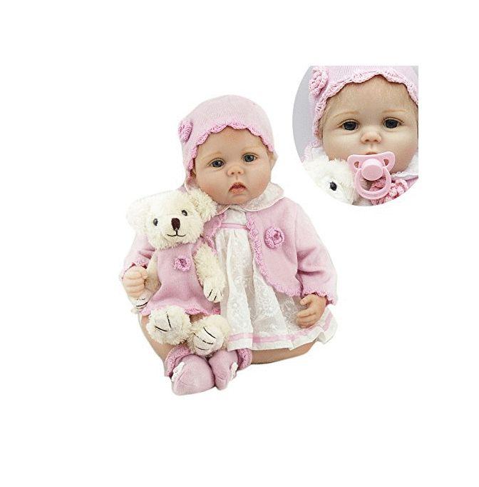 Npkdoll 10 Inch Mini Baby Reborn Girl Doll Full Body Silicone Mini Alive Dolls Sweet Dreams Bedtime Toys For Girls Brinquedos Dolls