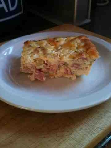 Quiche (slimming world friendly ). Uk lunch recipe