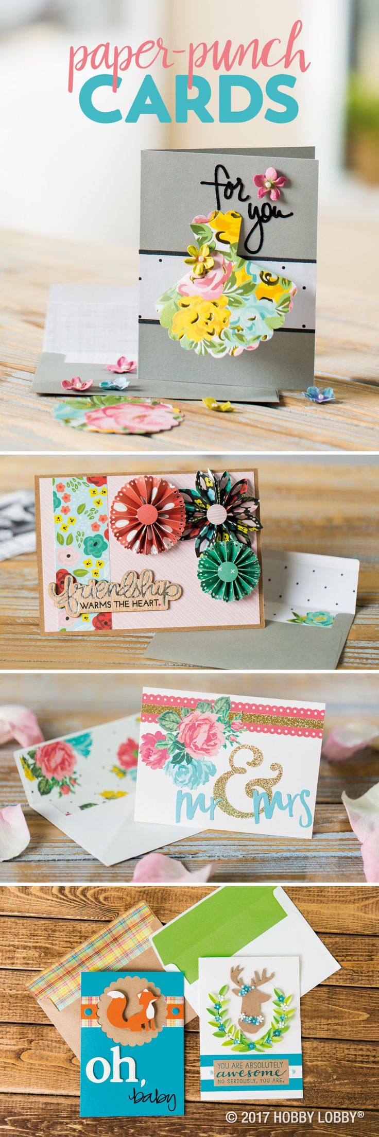 342 best papercrafting projects images on pinterest for Pre punched paper for crafts