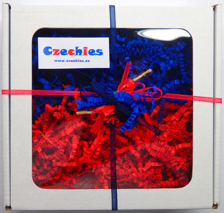 Gift boxes with Czech products from www.czechies.cz/en.