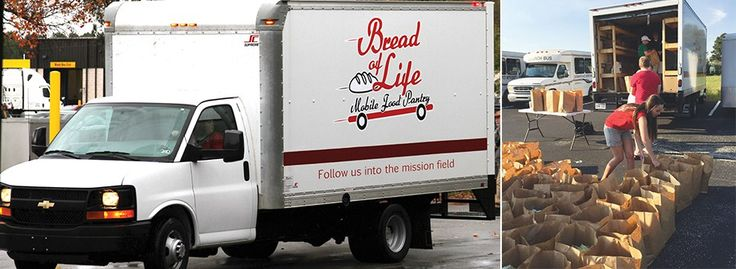 Mobile food pantry serves student households