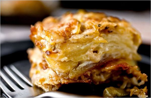 Potato Leek Gratin: Another way to explore my love of carbs and leeks