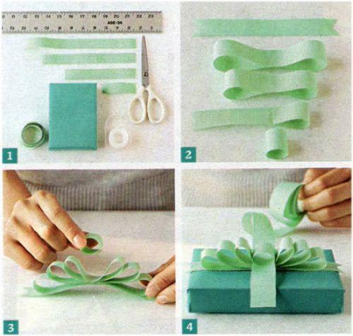 蝶結びができなくても大丈夫!ぶきっちょさんのリボンラッピング – プレゼント小ネタ帳