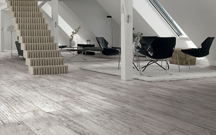 Grey distressed wood look porcelain tiles. | Trend: Wood Look Tiles |  Pinterest | Tiling, Wood table tops and