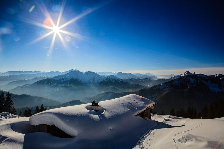Bavarian alps - Hikingtour Spitzingsee (1085 m) - Rotwandhaus (1737 m) - Rotwand (1884 m)