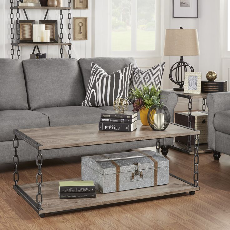 Trent Austin Design Villa Park 2 Piece Coffee Table Set