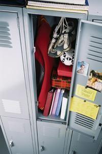 Help your child with school organization skills that will help him maintain a well-organized school locker.