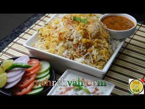 Qubooli Lentil Biryani - By Vahchef @ Vahrehvah.com - YouTube Qubooli is an Urdu word meaning 'acceptance'. The recipe below comes from the book The Emperor's Table, written by Salma Husain. And what a marvelous book it is! The author has painstakingly researched the cuisine of seven Mughal emperors who ruled over India for hundreds of years.  Reach vahrehvah at  Website - http://www.vahrehvah.com/  Youtube -  http://www.youtube.com/subscription_center?add_user=vahchef