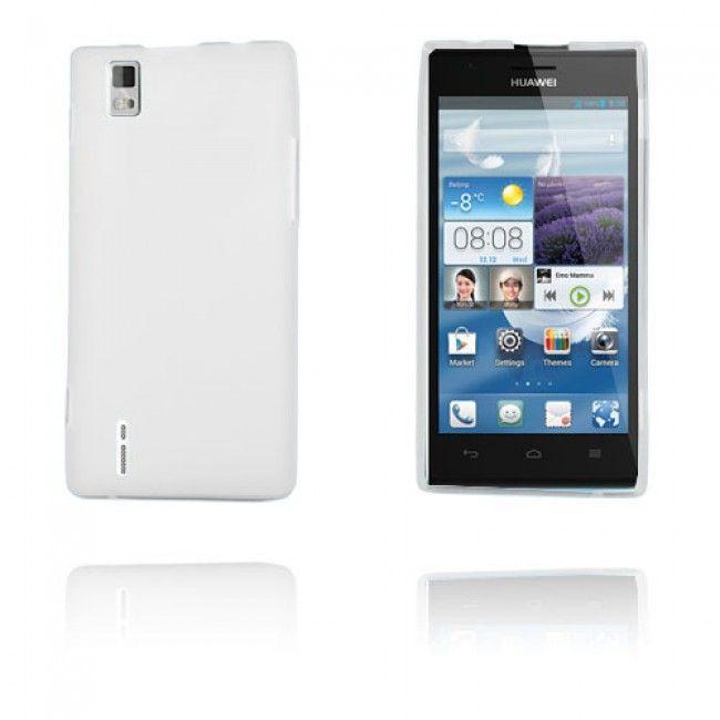 GelCase (Valkoinen) Huawei Ascend P2 Suojakuori - http://lux-case.fi/gelcase-valkoinen-huawei-ascend-p2-suojakuori.html