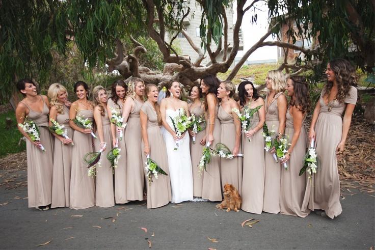25+ Best Ideas About Beige Bridesmaid Dresses On Pinterest