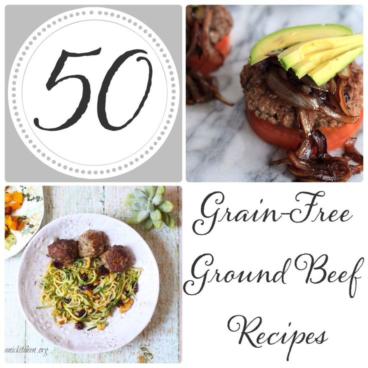 50(!) Grain-Free & Paleo Ground Beef Recipes