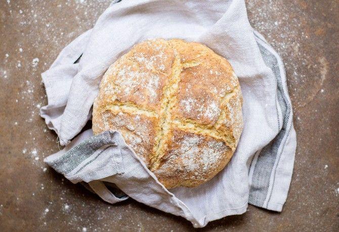 Ír, szódás kenyér kefirrel