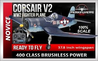 Corsair RTF EPO Electric RC Plane - $199.99