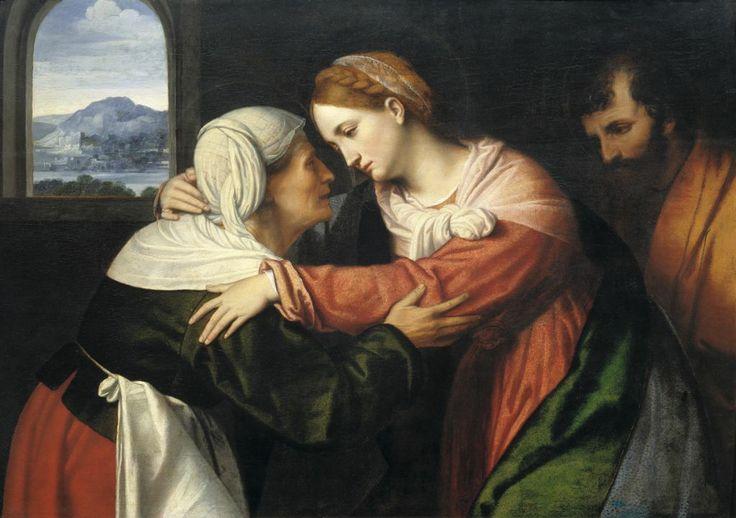 Alessandro Bonvicino detto il Moretto, La visitazione