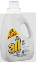 All Free & Clear 2X Ultra with Stain Lifter