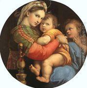 Madonna della Sedia 1518  by Raphael