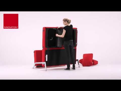 Cubed 140 Double Sofa Bed by Innovation Sydney
